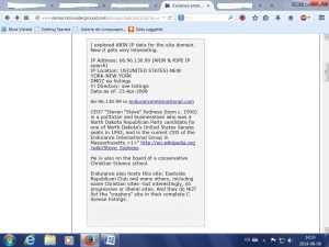 crash tea party back to Steve Sydness